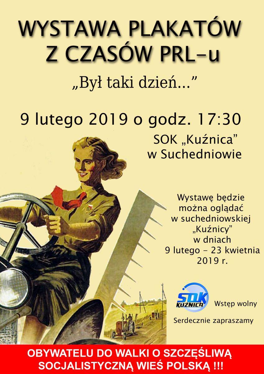 Wernisaż Wystawy Plakatów Z Czasów Prl U Suchedniowski